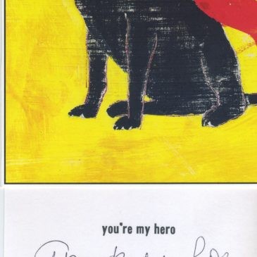 """You're my hero"""